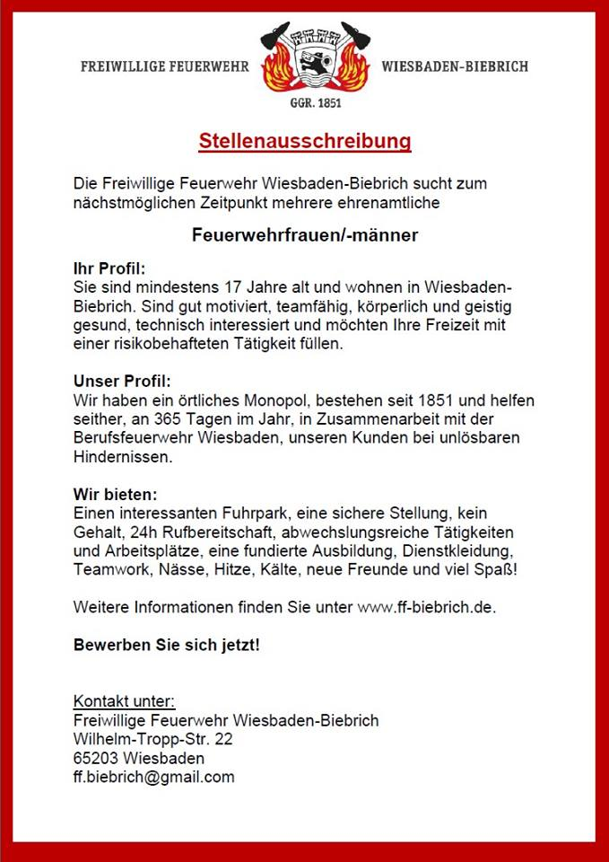 news - Bewerbung Berufsfeuerwehr